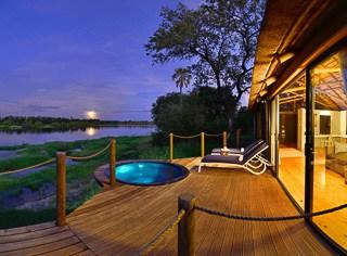 Camp site Victoria Falls