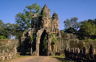 Bayon entry Angkor Wat Cambodia