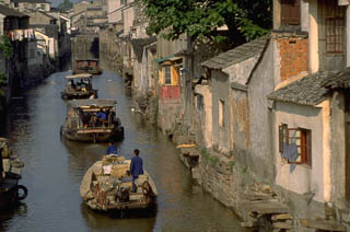 Backwater canal Suzhou China