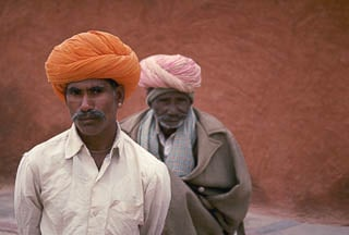 Rajastani men in Jodhpur