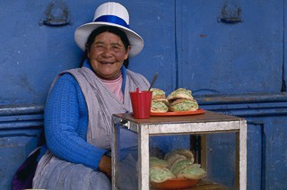 Tortas in Cusco Peru
