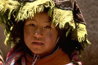 Child In Peru