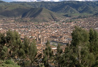 City of Cusco Peru